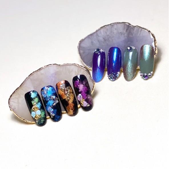 salon-nail-art-stamping-cat-eye-pigmentos-2-by-Fantasy-Nails