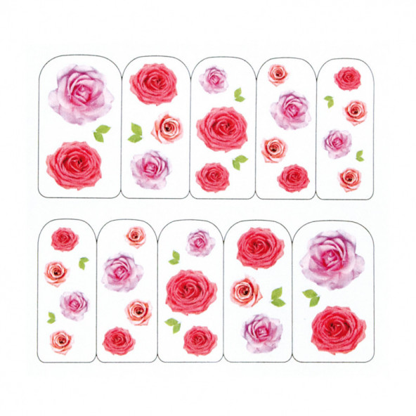 pegatinas-al-agua-rosas-variadas-assorted-roses-1-by-Fantasy-Nails