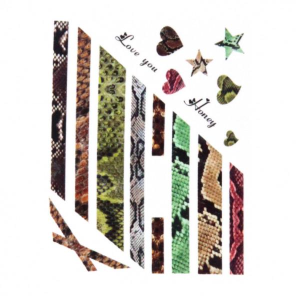 pegatinas-al-agua-serpiente-variado-1-by-Fantasy-Nails