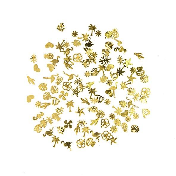 decoracion-deco-plana-gold-tropical-1-by-Fantasy-Nails