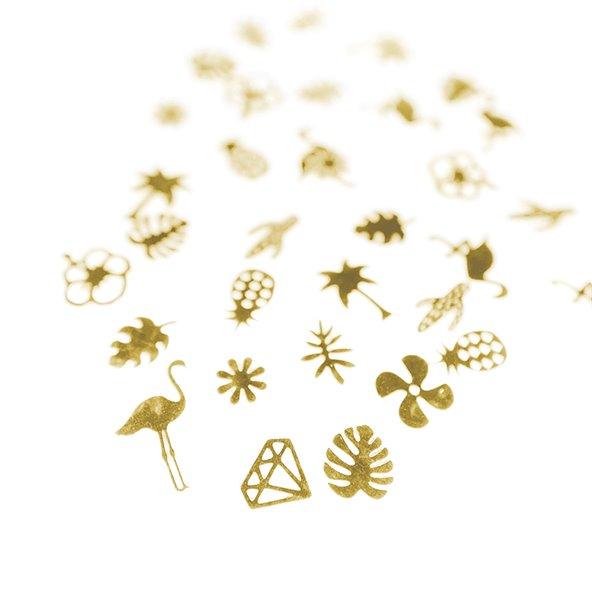 decoracion-deco-plana-gold-tropical-2-by-Fantasy-Nails