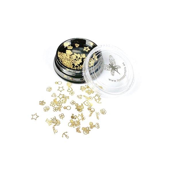 decoracion-deco-plana-gold-love-3-by-Fantasy-Nails