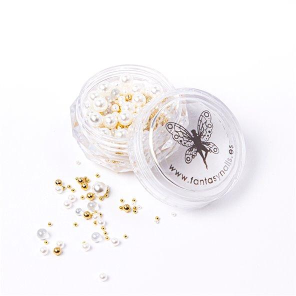 decoracion-mixed-pearls-ivory-gold-2-by-Fantasy-Nails