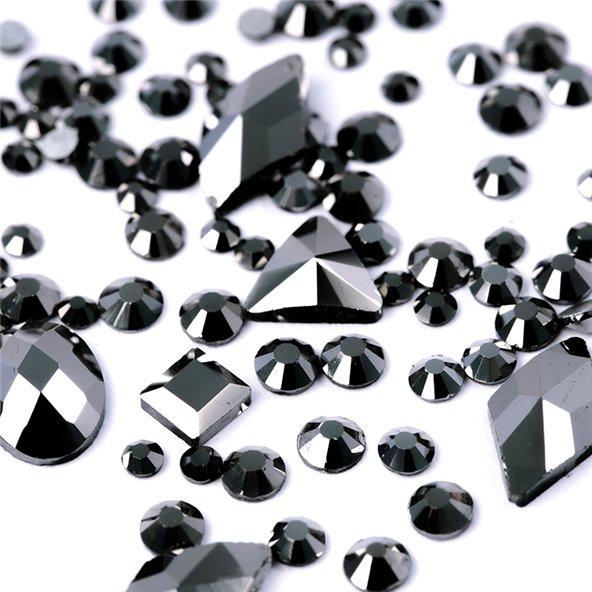 decoracion-mixed-crystal-jewels-onyx-black-3-by-Fantasy-Nails
