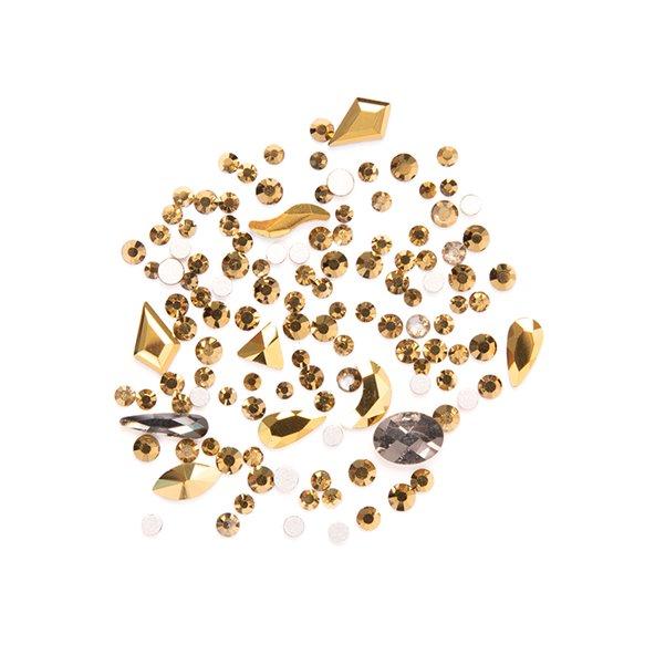 decoracion-mixed-crystal-jewels-vintage-gold-1-by-Fantasy-Nails