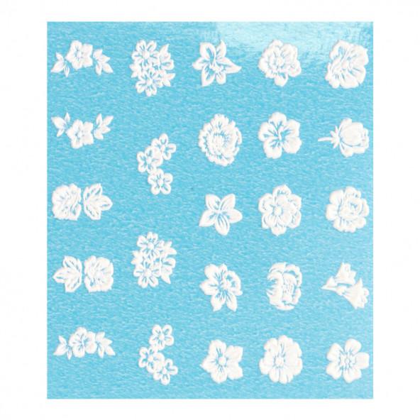 pegatinas-al-agua-en-relieve-white-flowers-1-by-Fantasy-Nails