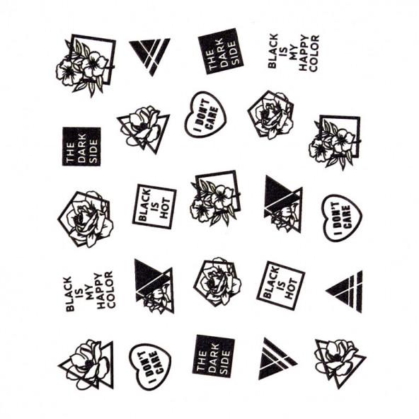 pegatinas-al-agua-en-relieve-black-is-hot-1-by-Fantasy-Nails