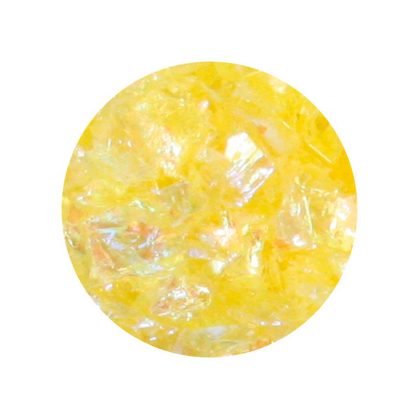 glitter-flakes-lemon-1-by-Fantasy-Nails