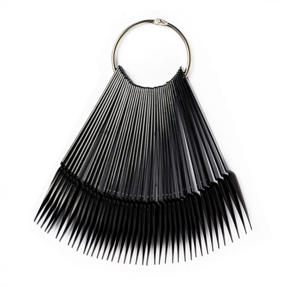 abanico-stiletto-negro-1-by-Fantasy-Nails