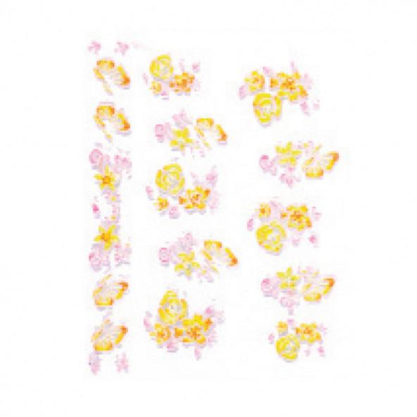 pegatinas-en-relieve-flor-mariposa-amarillo-1-by-Fantasy-Nails