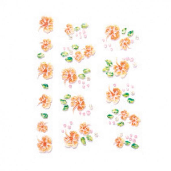 pegatinas-en-relieve-flores-naranjas-1-by-Fantasy-Nails