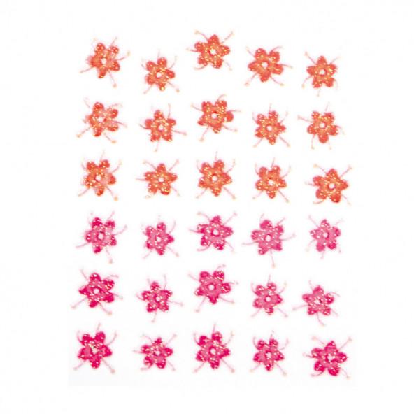 pegatinas-en-relieve-flores-naranja-rosa-1-by-Fantasy-Nails