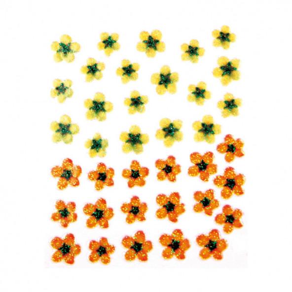 pegatinas-en-relieve-flores-amarillo-naranja-1-by-Fantasy-Nails