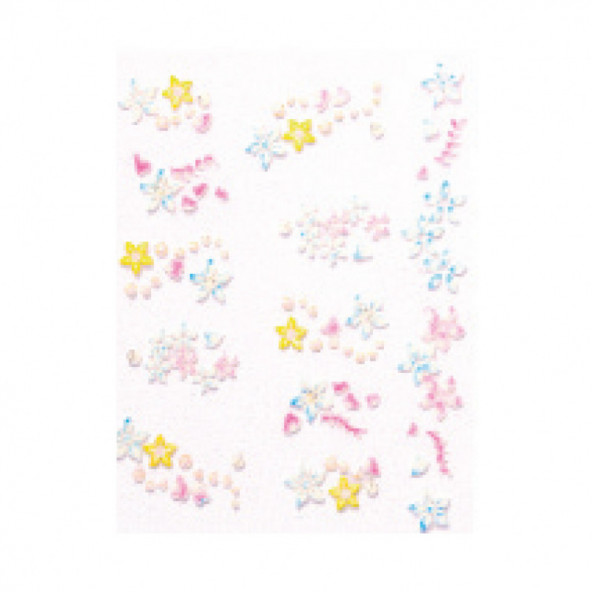 pegatinas-en-relieve-flores-azules-1-by-Fantasy-Nails